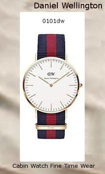 Product Specifications Watch Information Brand, Seller, or Collection Name Daniel Wellington Model number 0101DW Part Number DW00100001 Model Year 2014 Item Shape Round Dial window material type Mineral Display Type Analog Clasp Buckle Metal stamp Stainless steel Case material Rose Gold Case diameter 40 millimeters Case Thickness 6 millimeters Band Material Nylon Band length Men's Standard Band width 20 millimeters Band Color Two Tone Dial color White Bezel material Rose Gold Bezel function Stationary Calendar Date Special features Bezel:Fixed Item weight 2.40 Ounces Movement Quartz Water resistant depth 99 Feet,daniel wellington