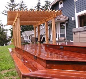 "Tough and Durable Ipe ""Ironwood"" Hardwood Decking is an excellent choice for decking"