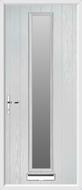 1 Strip Composite Door obscure glass
