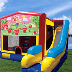 www.infusioninflatables.com-bounce house-combo-strawberry-shortcake-memphis-infusion-inflatables.jpg