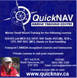 QuickNav Marine Training Centre Website
