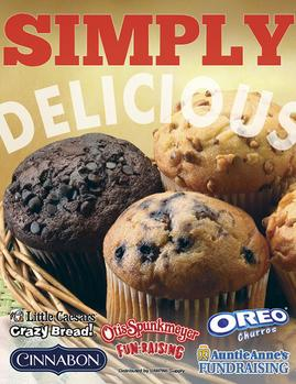 Simply Delicious Fundraiser Brochure