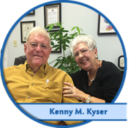 Kenny M. Kyser a customer of All Clear Hearing Centers.