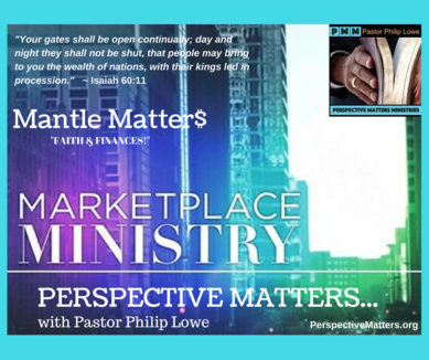 Mantle Matter$ Faith & Finances Webinar
