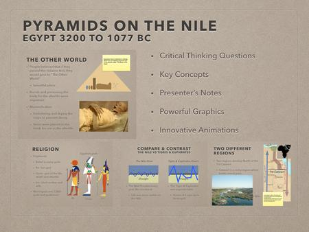 Pyramids On The Nile Presentation