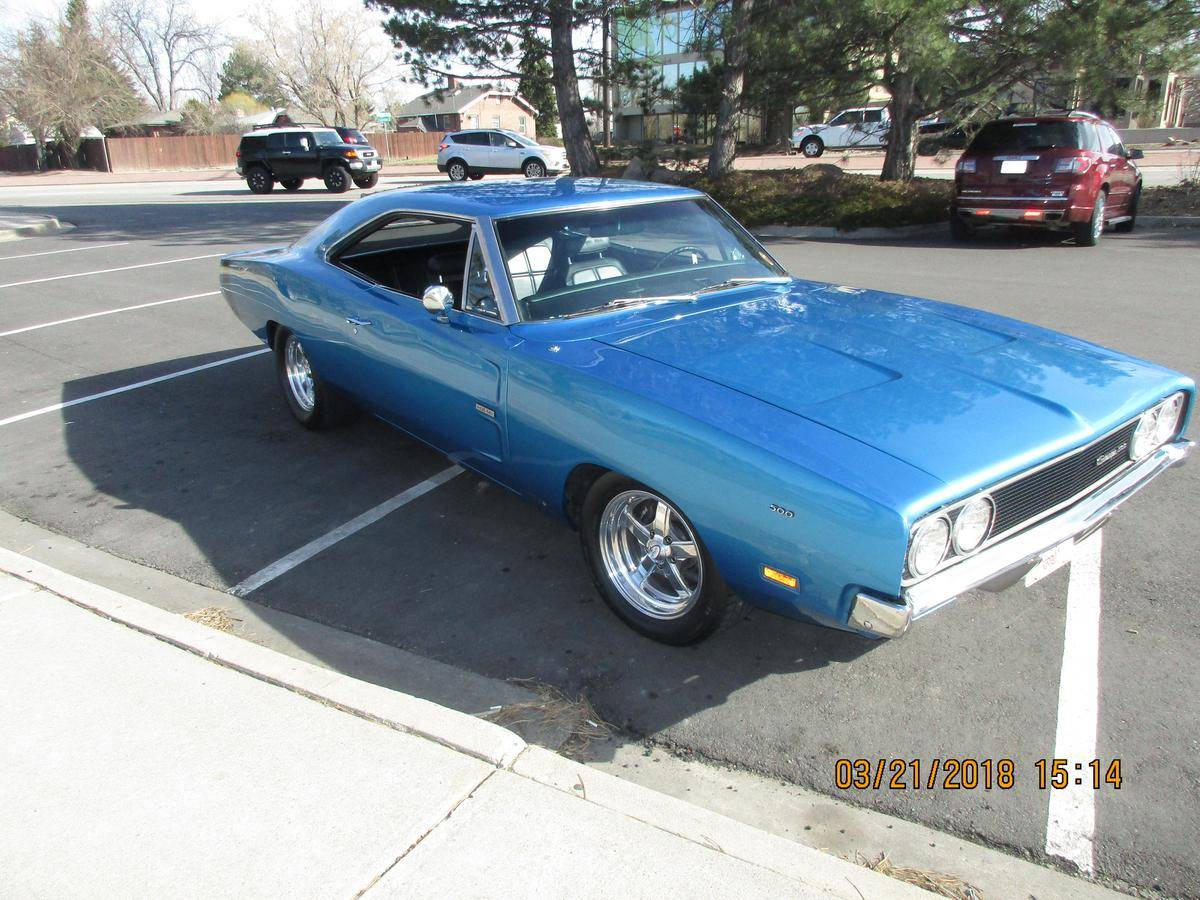1969 Dodge Charger 500 Se Interior Mileage 1 Transmission Auto Condition Excellent Exterior B 5 Blue Black Leather Sellers Description Gorgeous Real Deal