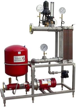 Hot Water Set with Brazed Plate Heat Exchanger by TriStar Ltd