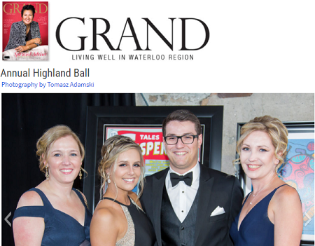 Grand Maganzine Coverage of the 2018 Annual Highland Ball