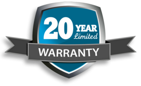Roofer 20 Year Warranty