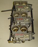 Used carburetors for a 1991 Mercury 150 hp XR4 outboard motor 9762A1, 9762A2, 9762A3