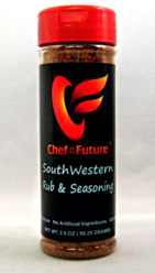 SouthWestern Seasoning Rub-Chef of the Future-Your Source for Quality Seasoning Rubs