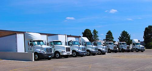 We own and operate a fleet of 10 tractors and more than 100 trailers to service our accounts. We offer trailer spots at our customer's dock to assist them in eliminating double handling of their scrap materials and freeing up their valuable floor space.