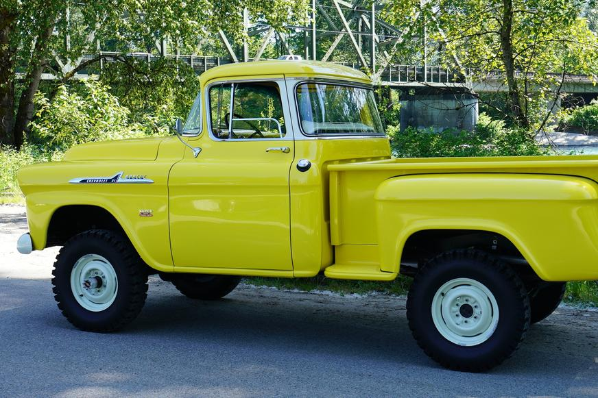 2009 Chevy Silverado For Sale >> 1958 Chevy 3100 Apache NAPCO 4x4