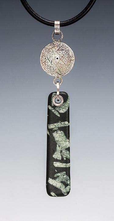 Carol Holaday-Bull's Eye Talisman back