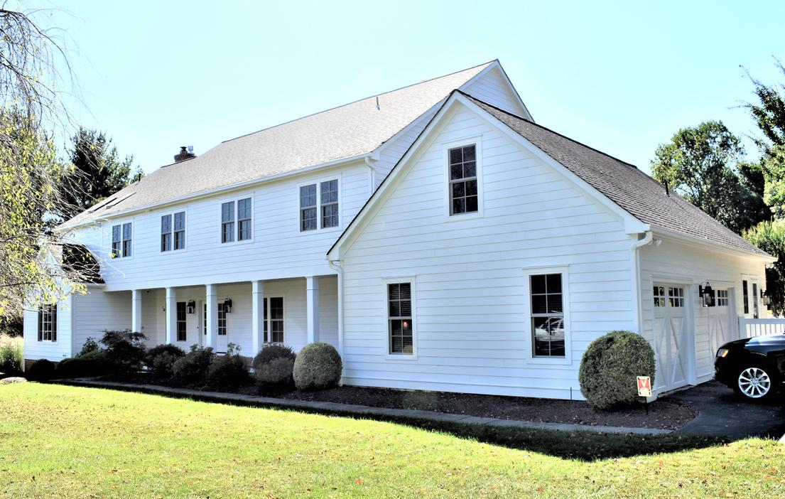 Hardie Siding Arctic White | Fiberglass Replacement Windows | Siding Contractor Gaithersburg, MD
