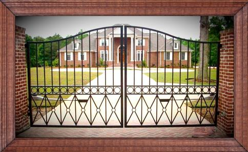 Wrought Iron, Steel and Aluminum Driveway Gates, Walk Gates, Fencing and Hand Rails.