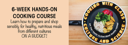 6-week hands-on healthy cooking course