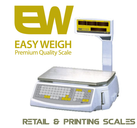 Easy Weigh retail and printing scales