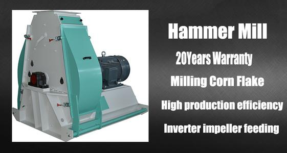 hammer mill in a precooked flaking mill line