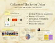 Collapse of the Soviet Union PowerPoint
