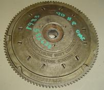582628, 582441 Used flywheel for a 1983 90 hp Johnson or Evinrude outboard motor. OEM #582628, 582441,