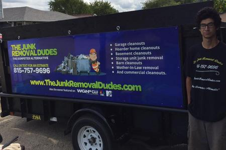 The Junk Removal Dudes - Boone County Junk Removal - 815-757-9696