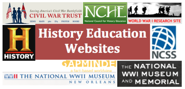 History Education Websites