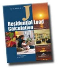 Residential Manual J load calculation designs