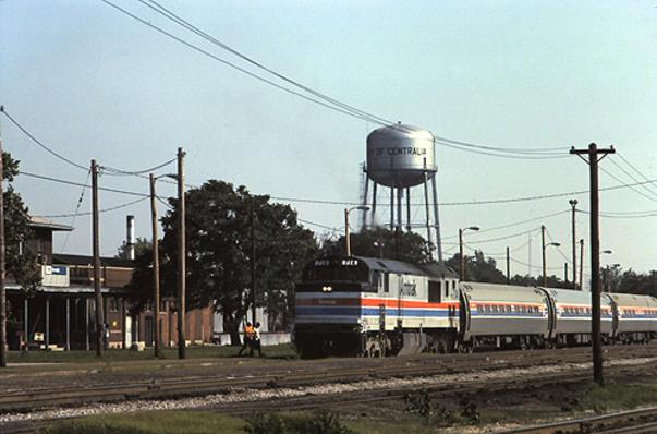 The Shawnee at Centralia in June 1978