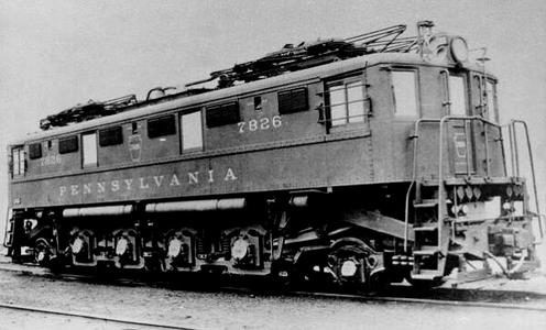 PRR L6 No. 7826. PRR photo.