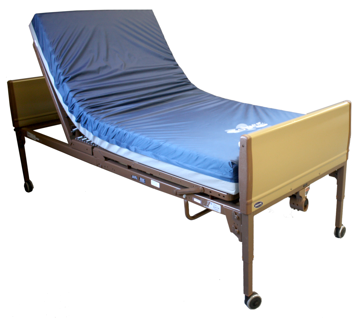medsurg bed does pads meditek siderail hospital a much cost how case of accessories for beds eleganza rent