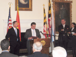 Maryland Tax Attorney Charles Dillon honored by Governor of Maryland and Prime Minster of Montenegro
