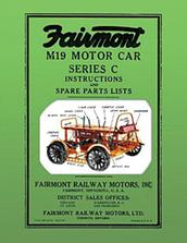 Fairmont M19 Motor Car Series C Instructions and Spare Parts List