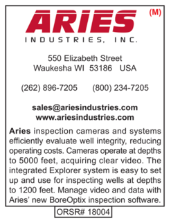 Down Hole Inspection, Aries Industries