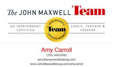 http://www.johnmaxwellgroup.com/amycarroll