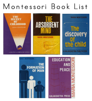 Montessori Book List - Montessori Print Shop