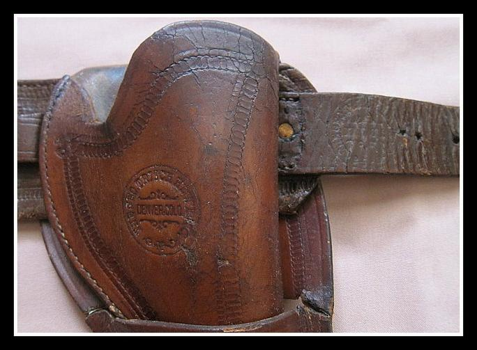 Colorado Marked Holster and Belt Rig
