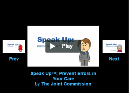 Speak Up Videos
