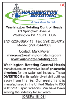 Washington Rotating, Water Well Products
