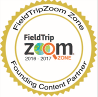 field trip zoom logo, founding content partner for distance learning programs