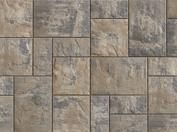 Unilock Concrete Paver Beacon Hill Flagstone Color Fossil