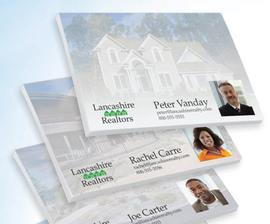 Promotional Realty or Real Estate staff self-adhesive note.