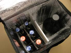 GrowLPaL insulated beer tote party pack style