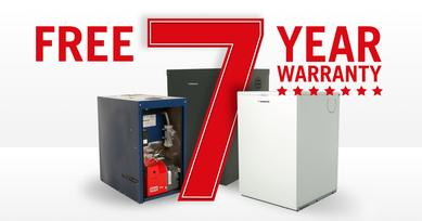 Warmflow 7 year warranty on boilers