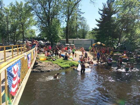 O'neil Creek Campground in Chippewa Falls, Wi