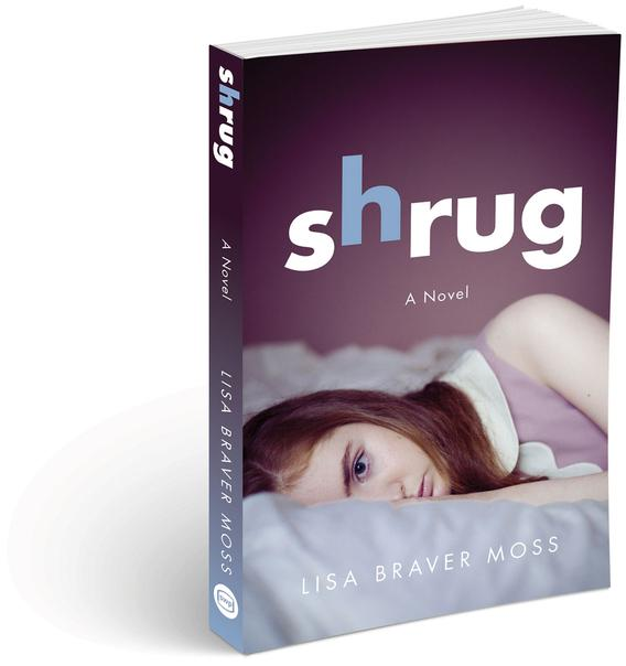 Shrug Paperback image (mockup base © Can Stock Photo / Gruffi)