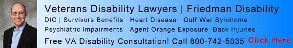 Veterans Disability Lawyer