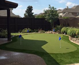 Backyard Putting Greens Dallas