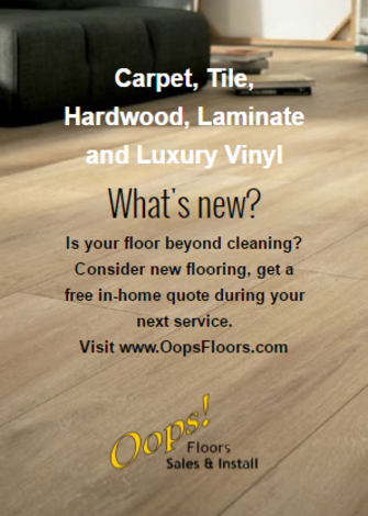 Flooring and carpet sale and installation
