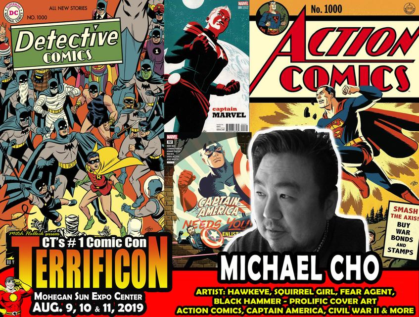 MICHAEL CHO TERRIFICON